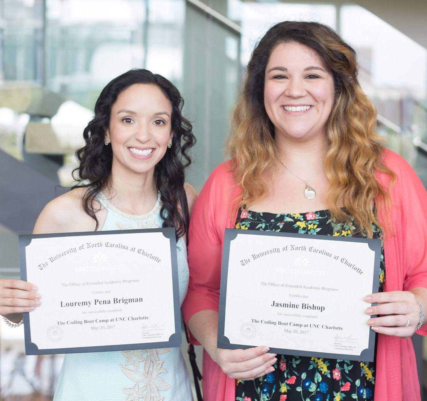 What Graduates Receive UNC Charlotte Boot Camps